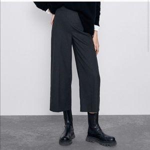 Zara Wool Culottes Pants